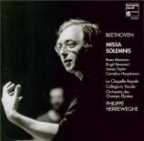 BEETHOVEN - Herreweghe - Missa Solemnis op.123