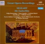 MOZART - Beecham - Die Zauberflöte (La flûte enchantée), opéra en deux a