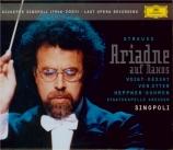 STRAUSS - Sinopoli - Ariadne auf Naxos (Ariane à Naxos), opéra op.60
