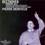 BEETHOVEN - Monteux - Symphonie n°9 op.125 'Ode à la joie'