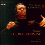 STRAVINSKY - Gergiev - Le sacre du printemps, ballet pour orchestre