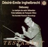 DEBUSSY - Inghelbrecht - Le martyre de Saint Sébastien, musique de scène