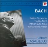 BACH - Casadesus - Toccata pour clavier en mi mineur BWV.914