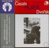 DVORAK - Casals - Concerto pour violoncelle et orchestre en si mineur op