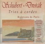 SCHUBERT - Ricercata de Pa - Trio à cordes n°1 en si bémol majeur D.471
