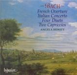 BACH - Hewitt - Concerto italien, pour clavier en fa majeur BWV.971