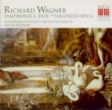 WAGNER - Rögner - Siegfried-Idyll, pour orchestre en mi majeur WWV.103