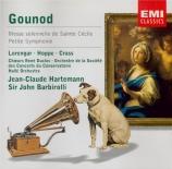 GOUNOD - Barbirolli - Messe solennelle de Sainte-Cécile