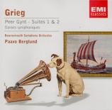 GRIEG - Berglund - Peer Gynt : suite n°1 op.46