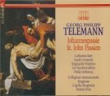 TELEMANN - Peire - Passion selon St. Jean (1765) TWV 5:50 'Ach Gott und