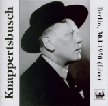 SCHUBERT - Knappertsbusch - Symphonie n°8 en si mineur D.759 'Inachevée' Live concert of 30.01.1950 in the Berlin Titania Palast