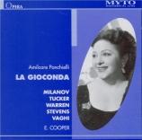 PONCHIELLI - Cooper - La Gioconda (Live New York, 16 - 3 - 1946) Live New York, 16 - 3 - 1946
