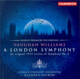 VAUGHAN WILLIAMS - Hickox - Symphonie n°2 'London'