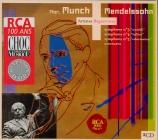 MENDELSSOHN-BARTHOLDY - Munch - Symphonie n°3 en la mineur op.56 'Schott