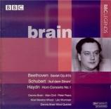 BEETHOVEN - Brain - Sextuor avec vents en mi bémol majeur op.81b