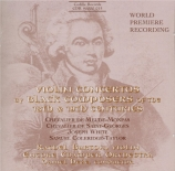 Violin Concertos by Black Composers of the 18th and 19th centuries