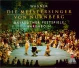 WAGNER - Barenboim - Die Meistersinger von Nürnberg (Les maîtres chanteu