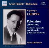 CHOPIN - Rubinstein - Andante spianato et grande polonaise brillante, po