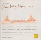 Concertos et oeuvres orchestrales