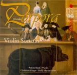 PORPORA - Steck - Sonate pour violon n°6 en ut majeur