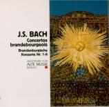 BACH - Akademie für al - Concerto brandebourgeois n°1 pour orchestre en