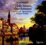 SCHUMANN - Marwood - Sonate pour violon et piano n°1 en la mineur op.105