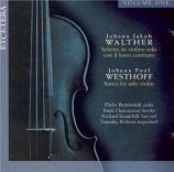 WESTHOFF - Beznosiuk - Suites pour violon seul (Vol.1) Vol.1