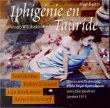 GLUCK - Gardiner - Iphigénie en Tauride : extraits (live London 1973) live London 1973