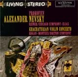 PROKOFIEV - Reiner - Alexander Nevsky, cantate pour soliste, choeur mixte