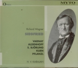 WAGNER - Karajan - Siegfried WWV.86c (live Bayreuth 1951) live Bayreuth 1951