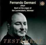 BACH - Germani - Prélude et fugue pour orgue BWV 541