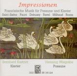 Musique française pour trombone et piano