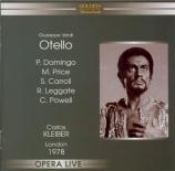 VERDI - Kleiber - Otello, opéra en quatre actes