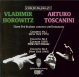 3 Live Brahms Concertos Performances