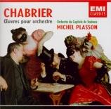 CHABRIER - Plasson - Joyeuse marche