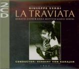 VERDI - Karajan - La traviata, opéra en trois actes Live Milan, 22 - 12 - 1964