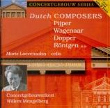 PIJPER - Mengelberg - Concerto pour violoncelle