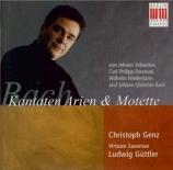 BACH - Güttler - Ich armer Mensch, ich Sündenknecht, cantate pour solist