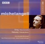 GRIEG - Michelangeli - Concerto pour piano en la mineur op.16 Live au Royal Festival Hall London 17 - 06 - 1965 et 13 - 04 - 1982