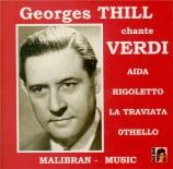 VERDI - Thill - La traviata, opéra en trois actes : extraits
