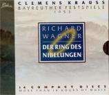 WAGNER - Krauss - Der Ring des Nibelungen (L'Anneau du Nibelung) WWV.86 live Bayreuth 1953