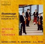 Hommage à 3 compositeurs français du XXème siècle
