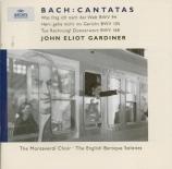 BACH - Gardiner - Was frag ich nach der Welt, cantate pour solistes, choe