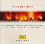STRAVINSKY - Maazel - L'oiseau de feu, suite symphonique pour orchestre