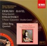 DEBUSSY - Alban Berg Quar - Quatuor à cordes op.10 L.85