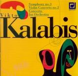 KALABIS - Sawallisch - Symphonie n°3 op.33