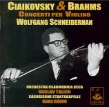 TCHAIKOVSKY - Schneiderhan - Concerto pour violon en ré majeur op.35