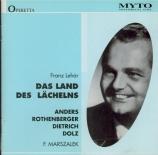 LEHAR - Marszalek - Das Land des Lächelns (Le pays du sourire) Live Kölner Rundfunk, 6 - 4 - 1950