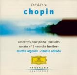 CHOPIN - Argerich - Andante spianato et grande polonaise brillante, vers