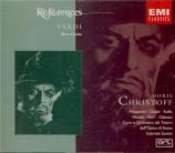 VERDI - Santini - Don Carlo, opéra (version italienne)